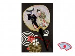 Postcard - Kabuki actors fan