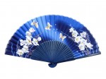 Fan - Butterflies navy