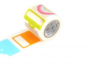 Taśma washi masking tape mt - Tag