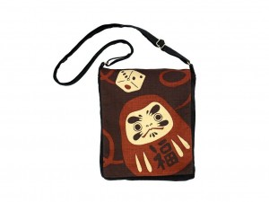 Shoulder bag Daruma [ Japan gift ]