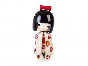 Kokeshi Otomesode Shiro [ Japan gift ]