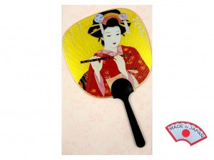 Postcard - Maiko large fan