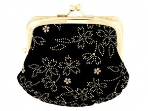 Coin purse with snap closure Hana