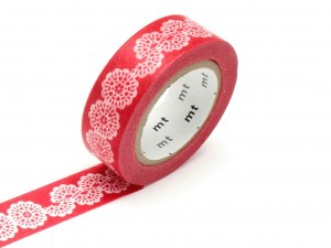 Taśma washi masking tape mt - Lace Circle [ Japonia prezent ]