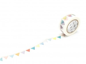 Taśma washi masking tape mt - Flag