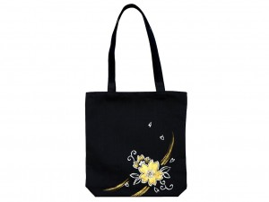 Hand-painted bag Sakura