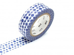 Taśma washi masking tape mt - Flower Type