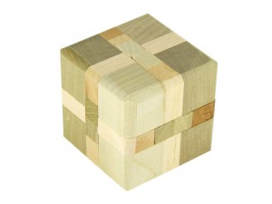 Wooden puzzles - cube