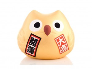 Owl - Wealth [ Japan gift ]
