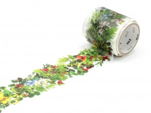 Taśma washi masking tape mt - Fab Green