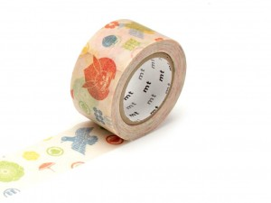 Taśma washi masking tape mt - Kamon