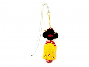 Bookmark Maiko - yellow obi