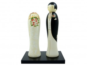 Kokeshi Married Couple