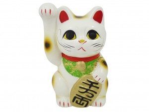 Maneki Neko moneybox Koten - Happiness 16cm