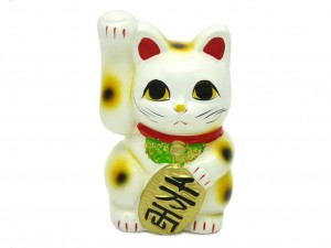 Maneki Neko moneybox Koten - Happiness 10cm [ Japan gift ]