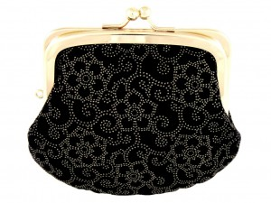 Coin purse with snap closure Ume